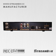 Streambox Dual-Core CPU MPEG-4 H.264/AVC wholesale android smart tv set top box dvb s2 Support MPEG-5