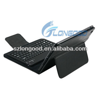 cheaper Leather Case with Detachable Removable Bluetooth Keyboard for iPad mini for ipad mini retina