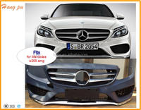 front bumper cover assy w/surround view w/park for 2015 class amg sport c300 c400 4dr sedan