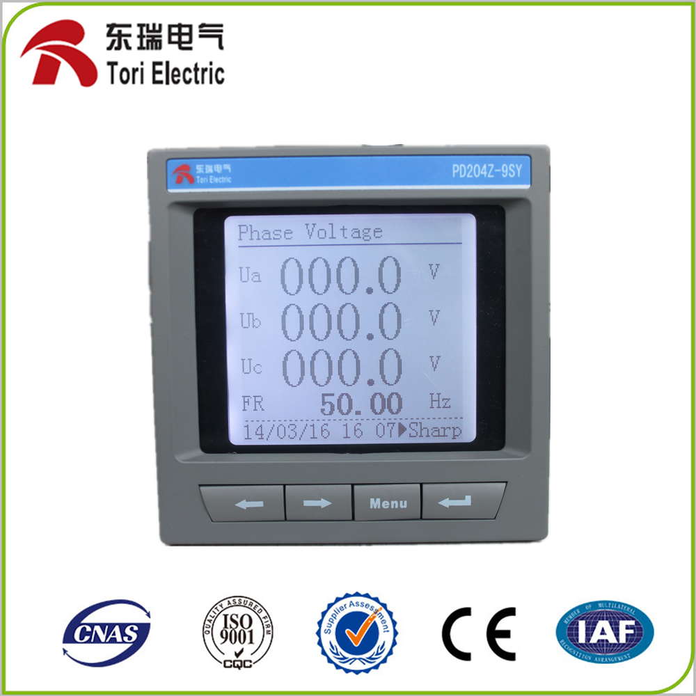 Three phase three lines smart energy meter mechanical electric meter PD204Z-9SY