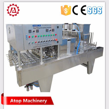 Shanghai Atop Machine high quality cup filling sealing machine for water juice