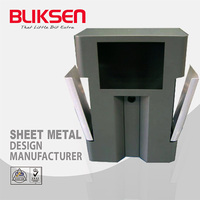 Semiconductor aluminum tool equipment box and enclosure