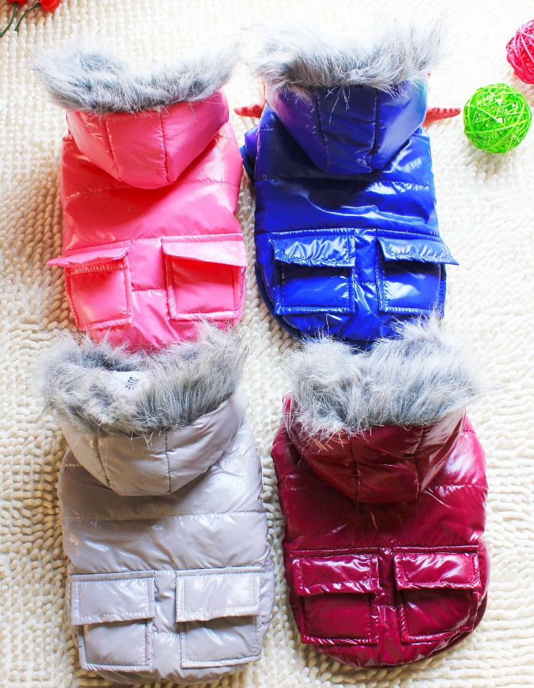 Trade Assurance Casual Dog Winter Clothing Dog Fur Clothes Cute Pets Clothing