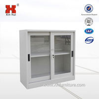 small display cabinet ,with sliding door ,modern office furnitue
