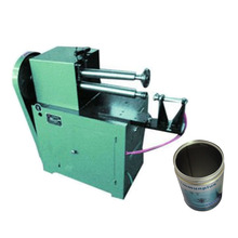 metal can screw thread rolling machine for food cans making machinery