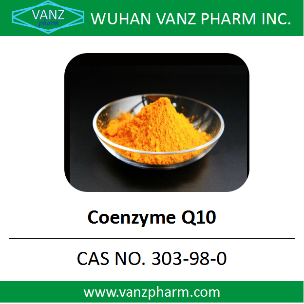 CAS 303-98-0 China Raw Material Water Soluble Halal Ubiquinol Coq10 Powder Coenzyme Q10