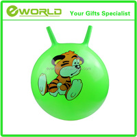 Jumping ball kids Ring handle Jumping Bouncing hopper ball