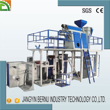 plant manufacture pp bag making blown film extrusion machine