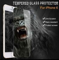 9H Ultrathin Clear Tempered Glass Screen Protector Case for Apple iphone 6 4.7 / Plus 5.5 Reinforced Front Film +Retail Box