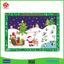 Custom Printing Christmas Tree Printing Disposable Plastic Placemat