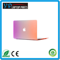 Factory Price Rainbow Rubberized Cover Shell Hard Case for Macbook Air Designer Cases for Macbook Pro