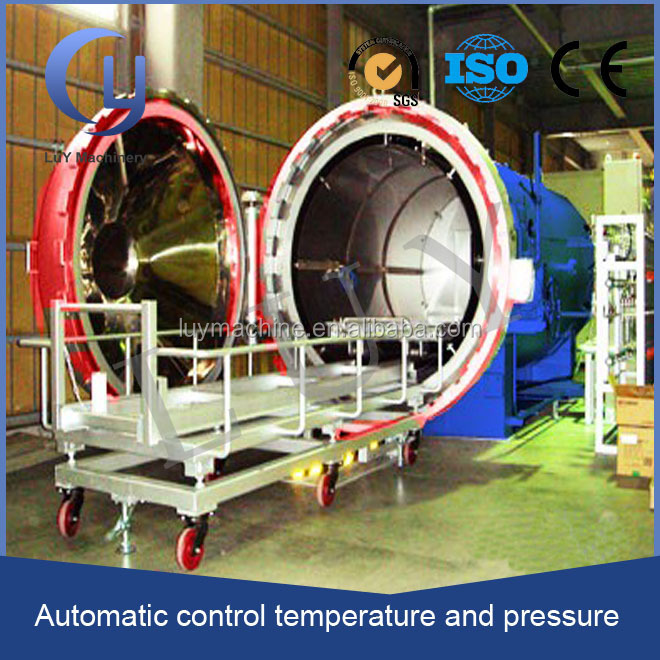 high temperature high pressure PLC control harga autoclave