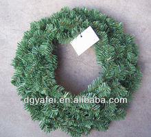 Wholesale Plain Factory Supplying Artificial Xmas Wreath