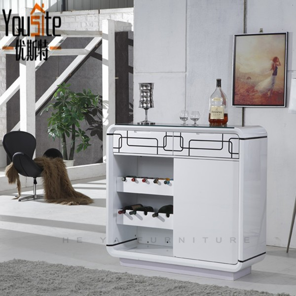 White mango wood glass furniture teak buffet sideboards