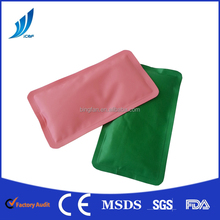 2016 New gel soft reusable Nylon material heart shape medical use hot cold pack /Gel Cold hot ice pack for body comfort