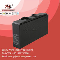 Deep Cycle AGM Battery 12V 150AH Rechargeable Lead Acid Telecom Battery