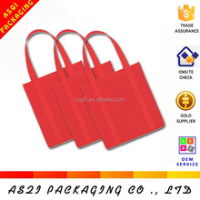 china manufacturer custom uk flag design non woven bag with long handle shoulder