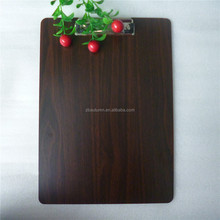 New product A4 wood clip board