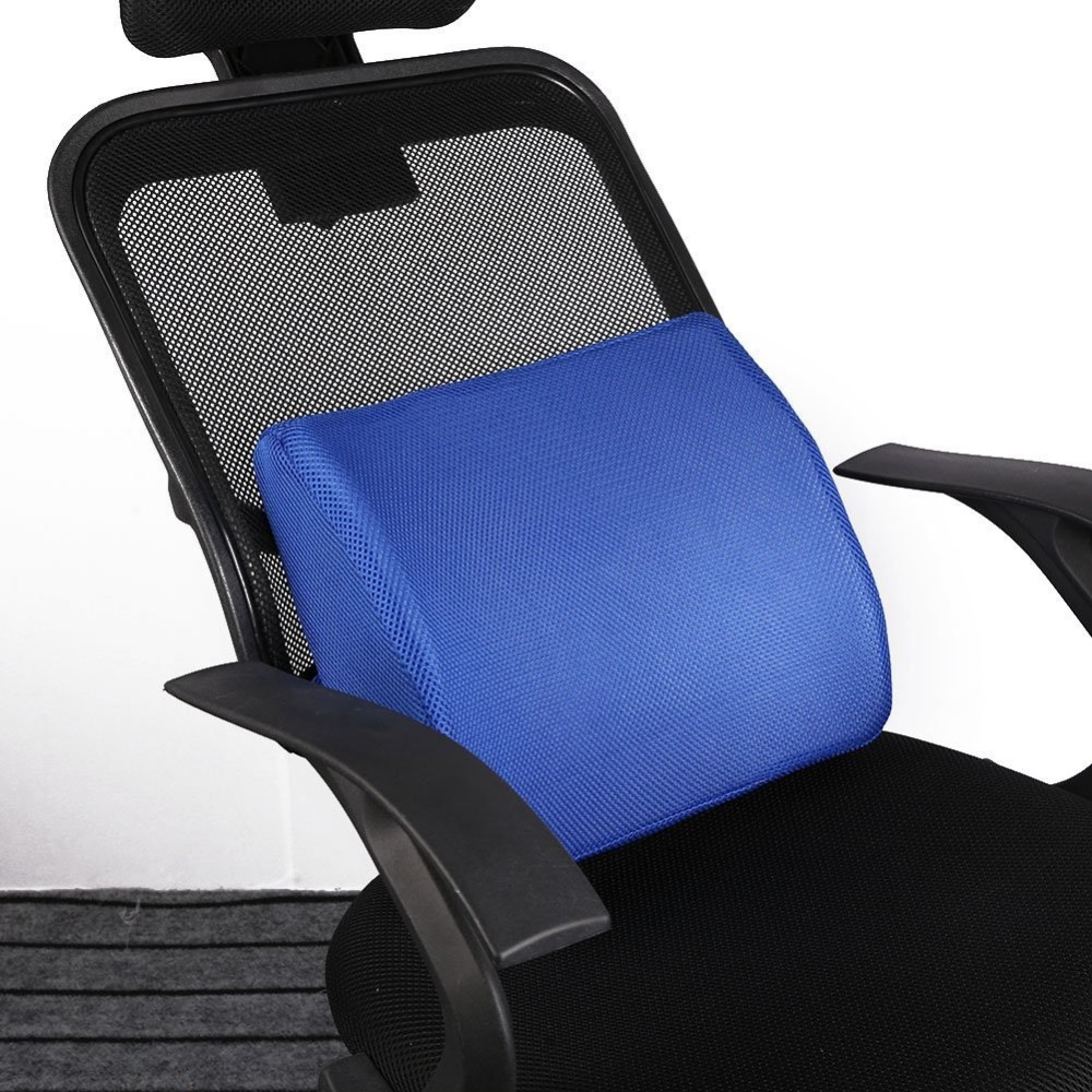 High Resilient Memory Foam 3d Ventilative Mesh Lumbar Support Cushion/ Back Cushion / Support Cushion