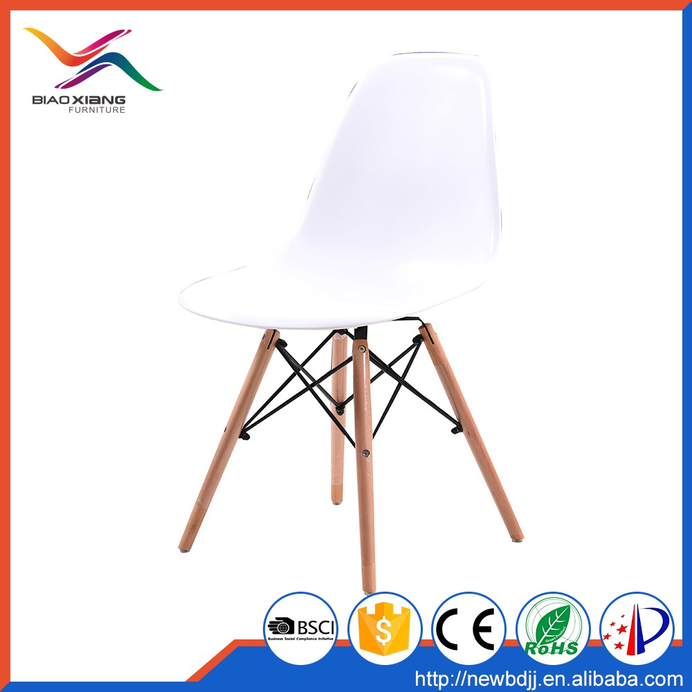 Modern fancy colored plastic dining room chairs,dining room furniture made in china