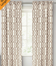 wholesale print window curtain for bed room