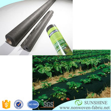 PP Spunbond Non woven Black Mulching Film/Weed Control Fabric/Black nonwoven