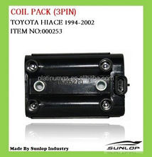 Coil pack(3pin) for toyota Jinbei van parts #000253 old hiace parts