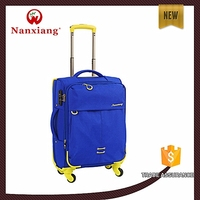 3pcs/set Soft Luggage, new design products pocket bag,super light trolley luggage