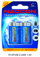 Size C Super heavy duty 1.5V R14P Dry Cell Battery um2