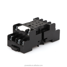 Top Style Custom Electrical 11 Pin Relay Socket Plastic Relay Socket