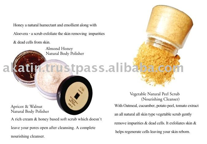 Excellent Quality Apricot & walnut cream based Scrub