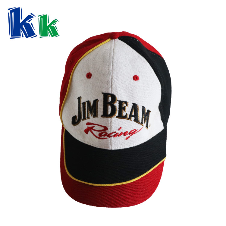 100% cotton material Mix color Logo customized baseball cap for adult