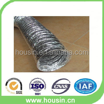 Ventilation fire resistant aluminium foil flexible duct