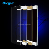 0.3mm 9h 3d full cover curved tempered glass protector for samsung note 7 screen protector
