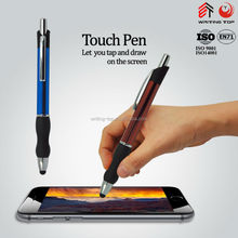 Metal touch smoothly writing ballpoint pen
