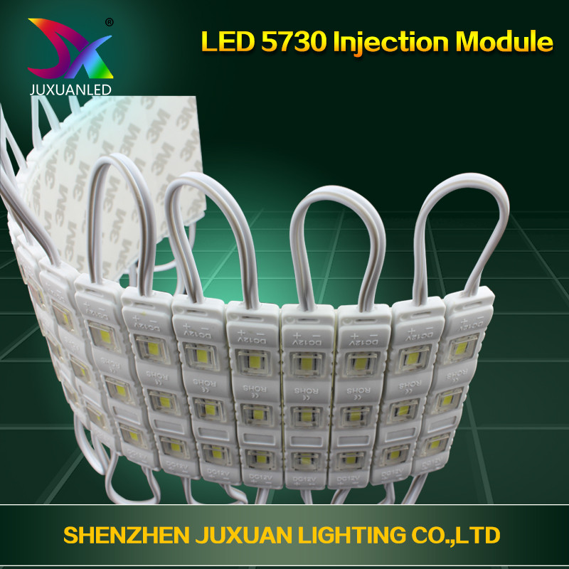 DC12V mini injection molding led <strong>module</strong> 3led waterproof 5730 smd led <strong>module</strong> for channel letter sign 3d letter outdoor
