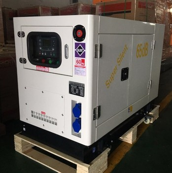 AC single phase 120V 10kva water cooled soundless diesel generator 10 kva
