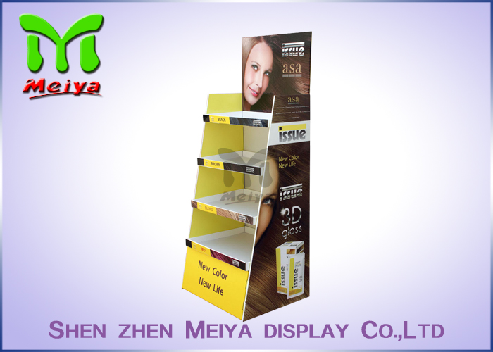 MagicMoon new design movie pop cardboard display with hooks for dvd retail with Bottle Bag