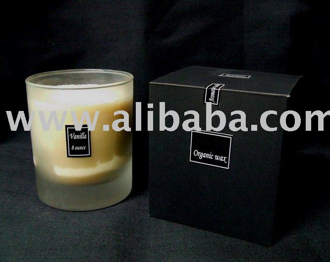 Aroma Scented Candle / Organics 100 %