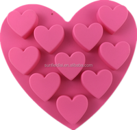 Valentine's Day Chocolate Mold Heart Silicone Love's Ice Cube Tray