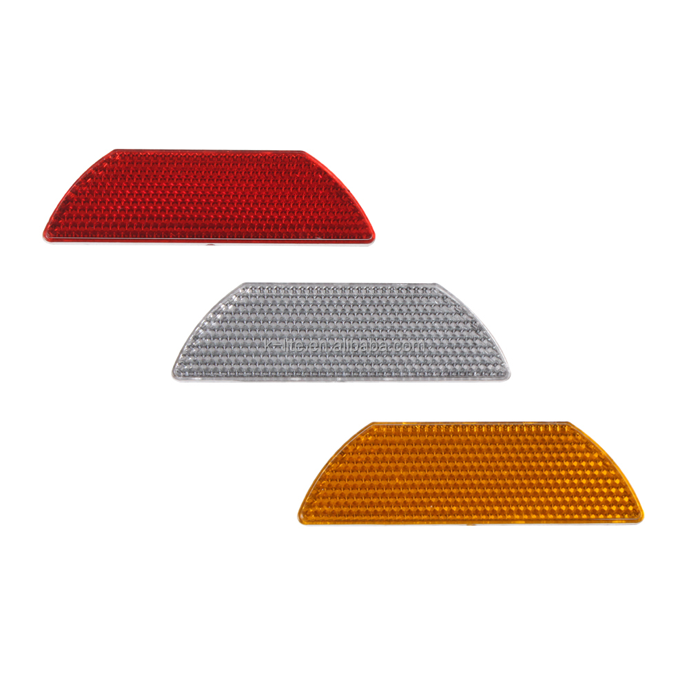 Reflective road marker paint, road stud reflectors