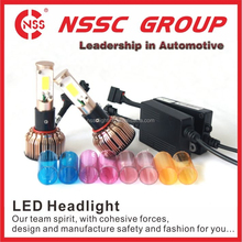 NSSC all in one 24W 2400LM car headlight manufacturer auto light kits h7 led conversion kit HID replacement 9004