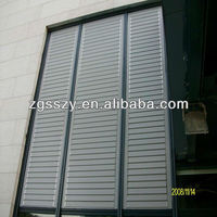 Readymade Glass Wall Used Aluminum Alloy Window Panel Louver