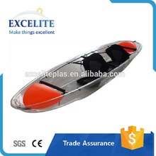 Polycarbonate clear visor transparent plastic kayak with great impact resistant