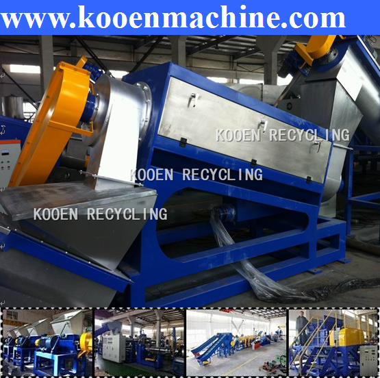 good quality pet plastic recycling cleaning line