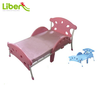 Fairytale Style Safe Cute Kids Plastic Toddler Bed