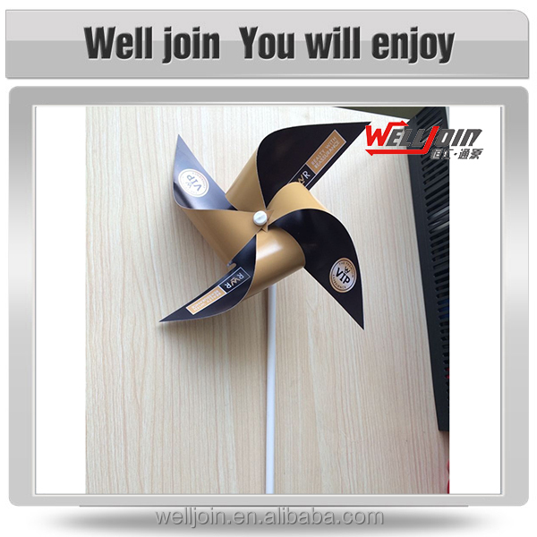 factory hot sell PVC portable windmill