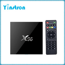 High quality X96 Amlogic S905X Quad Core Android 6.0 2G 16G 4K android internet tv box