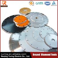 China Professional Brazed Diamond Tool Manufacturer Blade for Cutting Copper Wire
