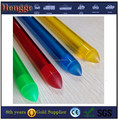 Transparent color plastic pc part polycarbonate plastic tubes pc tube